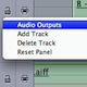 Assigning Tracks to Audio Channels