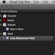 The Default Event In FCP X