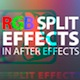 RGB Split Effect in After Effects