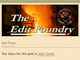 Happy Birthday Edit Foundry!!
