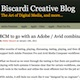 BCM to go with Adobe and Avid