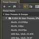 4k presets for Adobe Media Encoder
