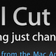 Final Cut Pro X released!