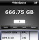 Video Space an iOS disk space calculator
