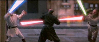 Best Edited Lightsaber Fight in a Star Wars Movie