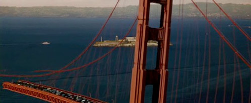 Top 5 Scenes Involving the Golden Gate Bridge
